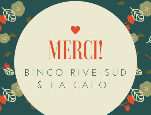 Bingo Rive-Sud et LA CAFOL