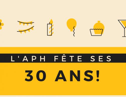L'APH de Lévis fête ses 30 ans!